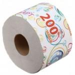 "Бумага туалетная (вторсырье) на втулке ""СТАНДАРТ МАКСИ 200"", вес - 160 г., РБ"