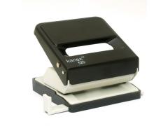 Дырокол 520 KANEX (ассорти) на 25 листов, цвет черный