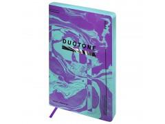"Ежедневник недатир. A5, 136л., кожзам, Greenwich Line ""Urban. Violet duotone"", тон. блок, цв. срез ENA5-25444"