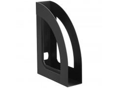 """Лоток для бумаг вертикальный Стамм """"Респект"""", черный. арт.ОФ111"""