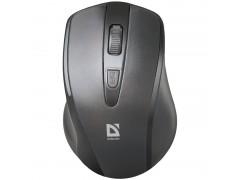 Мышь беспроводная Defender Datum MM-265, черный, 3btn+Roll 52265