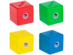 """Точилка пластиковая Milan """"Cubic"""", 1 отверстие, контейнер, арт. 20154216"""