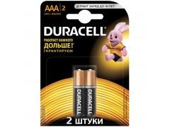 Батарейка Duracell Basic AAA (LR03) 2BL