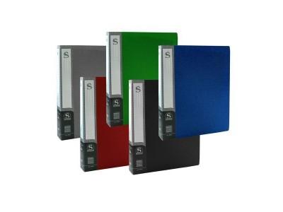 Папка с 80 файлами, форзац, ф.А4, ассорти, арт.SDB80/ASS