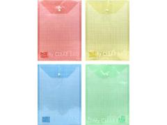 Папка-конверт с кнопкой MY CLEAR BAG, ф. А4, вертикальная, 140мкм, арт. SCB209/V