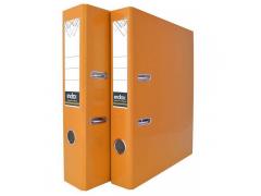 Папка-регистратор COLOURPLAY, 80 мм, ламинированная, неоновые цвета, арт. IND 8 LA, цвет оранжевый