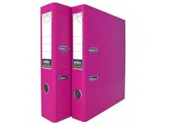 Папка-регистратор COLOURPLAY, 80 мм, ламинированная, неоновые цвета, арт. IND 8 LA, цвет сиреневый