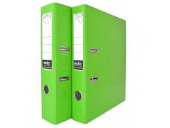Папка-регистратор COLOURPLAY, 80 мм, ламинированная, неоновые цвета, арт. IND 8 LA, цвет зеленый