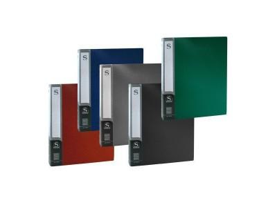 Папка с 100 файлами, форзац, ф.А4, ассорти, арт. SDB100/ASS