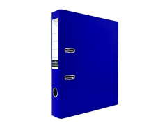 Папка-регистратор 50 мм, PVC, арт.IND 5/30 PVC, цвет синий