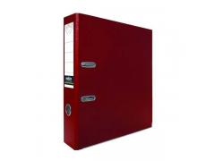 Папка-регистратор 50 мм, PVC, арт.IND 5/30 PVC, цвет бордовый