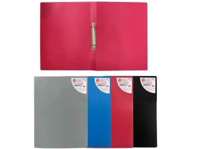 Папка на 2 кольцах, ф.А5, цвет: ассорти, арт.SRB02/A5/ASS/SPEC