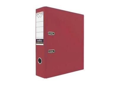 Папка-регистратор 80 мм, PVC, арт. IND 8/24 PVC, цвет красный