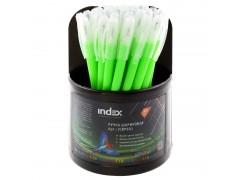 Ручка шариковая COLOURPLAY, 0,6 мм, пластиковый корпус, масляные чернила, зеленая, арт. ICBP601/GN