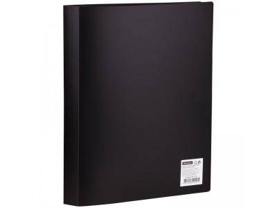 Папка с 40 вкладышами OfficeSpace, 25мм, 600мкм, черная, арт.F40L1_291