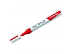 Маркер-краска Berlingo красная, 2-4мм, нитро-основа BMk_02103