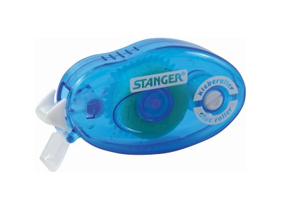 Роллер клеящий STANGER, перманентный, 8 мм х 14 м, синий, арт.39001