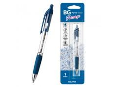 """Ручка гелевая автоматическая BG с грипом 0.5 мм """"FORSAGE"""", синий, RGag 3929"""