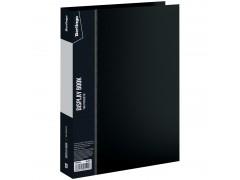 """Папка со 100 вкладышами Berlingo """"Standard"""", 30мм, 800мкм, черная MT2454"""