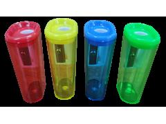 Точилка пластиковая, одинарная, контейнер, арт. 050001400