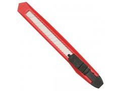 Нож канцелярский Silwerhof 1075690 шир.лез.9мм фиксатор ассорти пакет с европод.