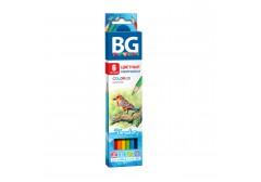 Карандаши цветные BG «FORESTER», 6 цв, шестигранные, 2.8 мм, арт. KR6C 4645