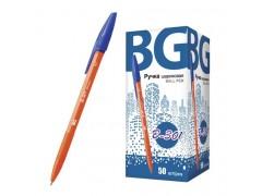 """Ручка шариковая BG 0.7 мм """"B-301 orange"""", синий, арт. R 3863"""