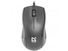 Мышь Defender Optimum MB-160, USB, черный, 3btn+Roll 52160