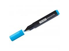 Текстовыделитель OfficeSpace голубой, 1-4мм HL_9543