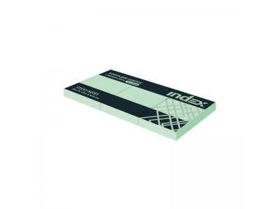 Бумага для заметок с липким слоем, разм. 51х38 мм, светло-зеленая, 100 л (3 шт в уп), арт. I431803_3