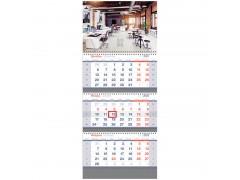 "Календарь квартальный 3 бл. на 3 гр. OfficeSpace Standard ""Office"", 2022г. 318420"