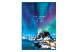 "Тетрадь для записей BG А4 скоба 80л. клетка ""Polar nature"", арт. Т4ск80 9725"