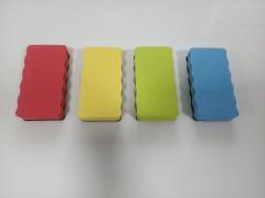 Губка-стиратель BOARDLINE магнитная для маркерной доски EVA, 5,8*11*2,1см, арт. T-19