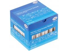 Мелки школьные Гамма, белые, 100шт., мягкие, круглые, картонная коробка 2308194