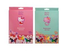 Набор карандашей цветных, ACTION!Hello Kitty , 18 цв., е/п, 2 диз., арт. HKO-ACP105-18