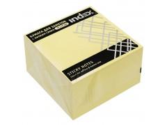 Бумага для заметок с липким слоем, разм. 76х76 мм, желтая, 450л, арт. I433611