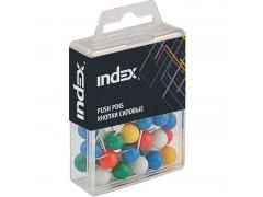 Кнопки силовые, сферические, 20 мм, 40шт, в пластиковой коробочке, арт. ISPP3020