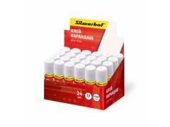 Клей-карандаш Silwerhof 436415 15гр ПВП дисплей картонный