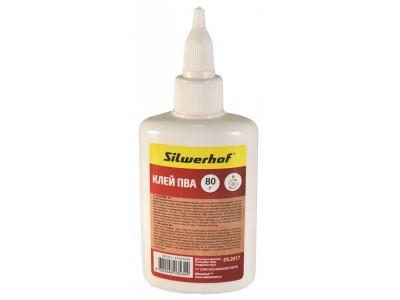 Клей ПВА Silwerhof 433035-80 80гр морозоустойчивый