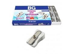 """Точилка BG """"BASIC"""", металл, 1 отверстие, картонная коробка, арт. TMT_1BS 6142"""