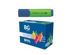 """Текстмаркер BG 1-5 мм """"COMFORT"""", зеленый, шоу бокс, 24/96/576 шт упак, арт. TM 6162"""
