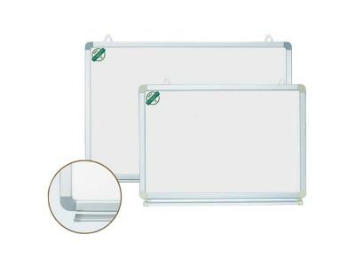 Доска магнитно-маркерная информ., 100х180 см, улучшенная метал.рама, арт. IWB-306