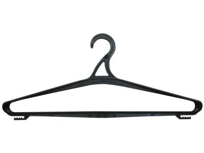 Вешалка-плечики р.48-50, пластик, цв.черный
