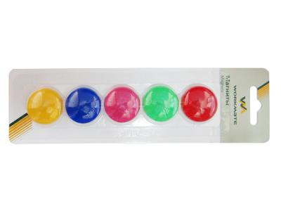 Набор магнитов, 30 мм, 5шт, круглые, арт. 032000400