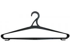 Вешалка-плечики р.50-52, пластик, цв.черный