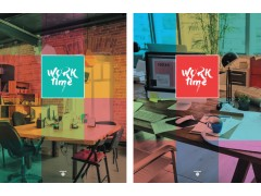 """Бизнес-блокнот BG 80 л. А4 """"Time work"""" (ассорти) ламинация, арт. ББ4_7БЦ80_лам 4501"""