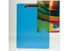 Клип-борд ENERGY, A4, пластик, 2 мм, синий, BRAUBERG, арт. 232230