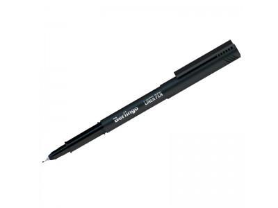 Ручка капиллярная черная, 0,4мм, арт. CK_40681