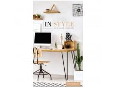 """Телефонная книга А5, 80л., 7БЦ, OfficeSpace """"Офис. In style"""", выборочный уф-лак, с высечкой Тк80т_25344"""