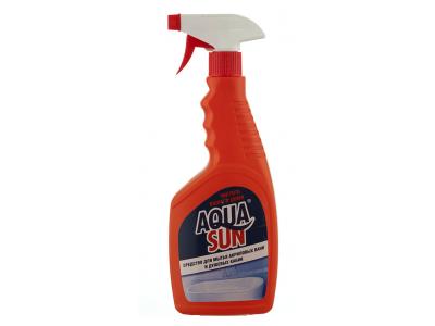 """Средство для мытья акриловых ванн и душевых кабин """"Aguasun"""", 500мл., РБ"""